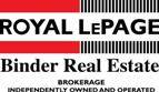 Royal Lepage Binder
