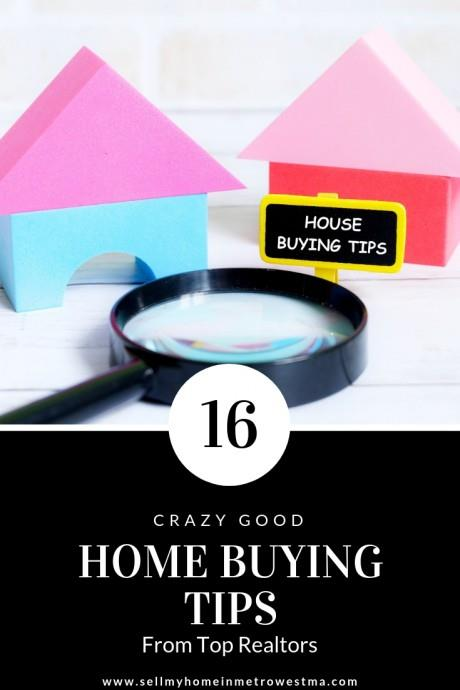 16 Home Buying Tips