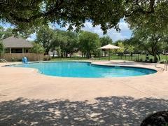 The swim pool in White Oak Preserve