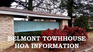 BELMONT TOWNHOMES, BELMONT HOA,