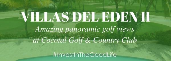 Villas del Eden Golf property at Cocotal Golf & Country Club