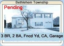 Palmer Township Home is Under Agreement