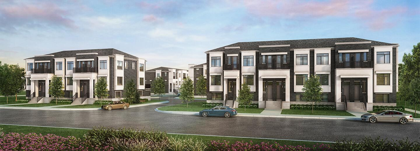 Canyon Hill Towns