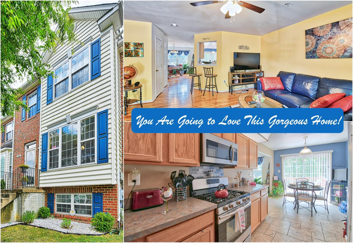 2733 Stanford Place in Waldorf is a beautiful townhouse available for sale by Marie Lally, Realtor with O'Brien Realty of Southern Maryland