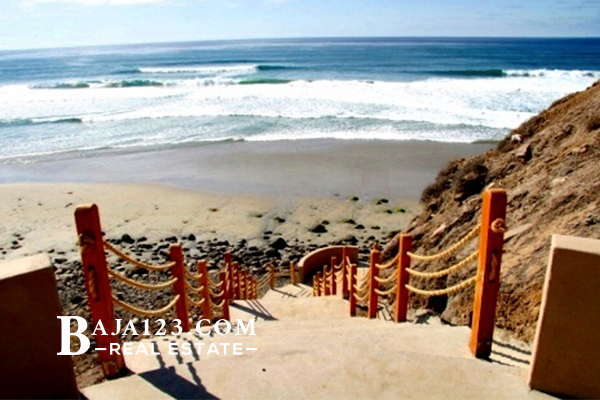 PUERTA DEL MAR BEACH ACCESS  ROSARITO BEACH