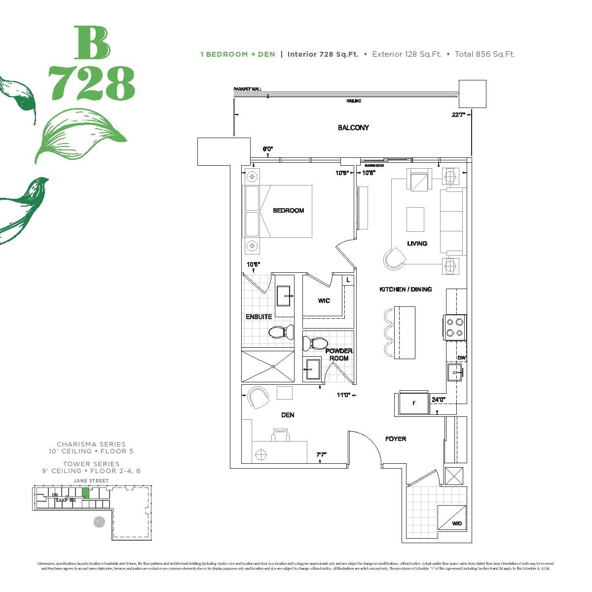 Charisma Condos 2 Floor Plans