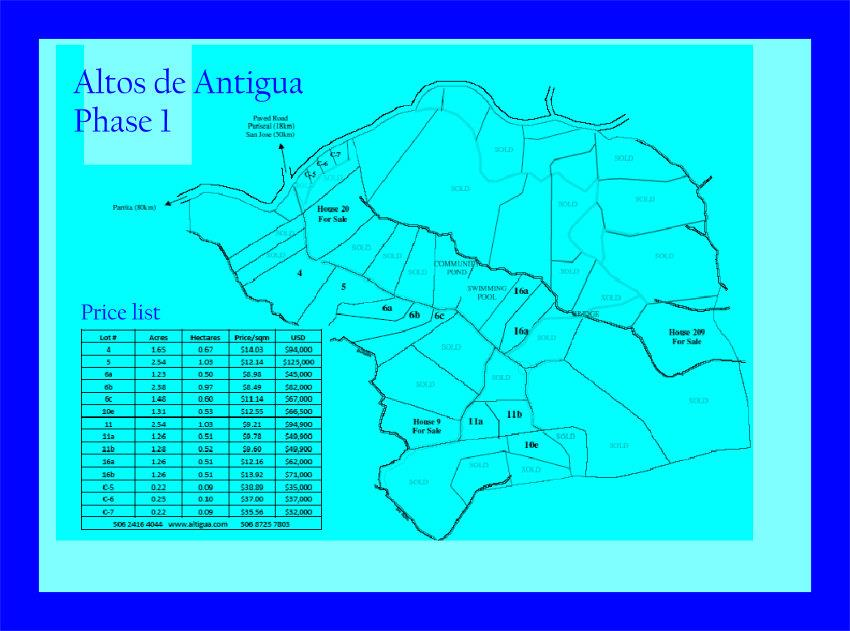 Costa Rica Puriscal Real Estate for Sale -C.R.R.V.P.