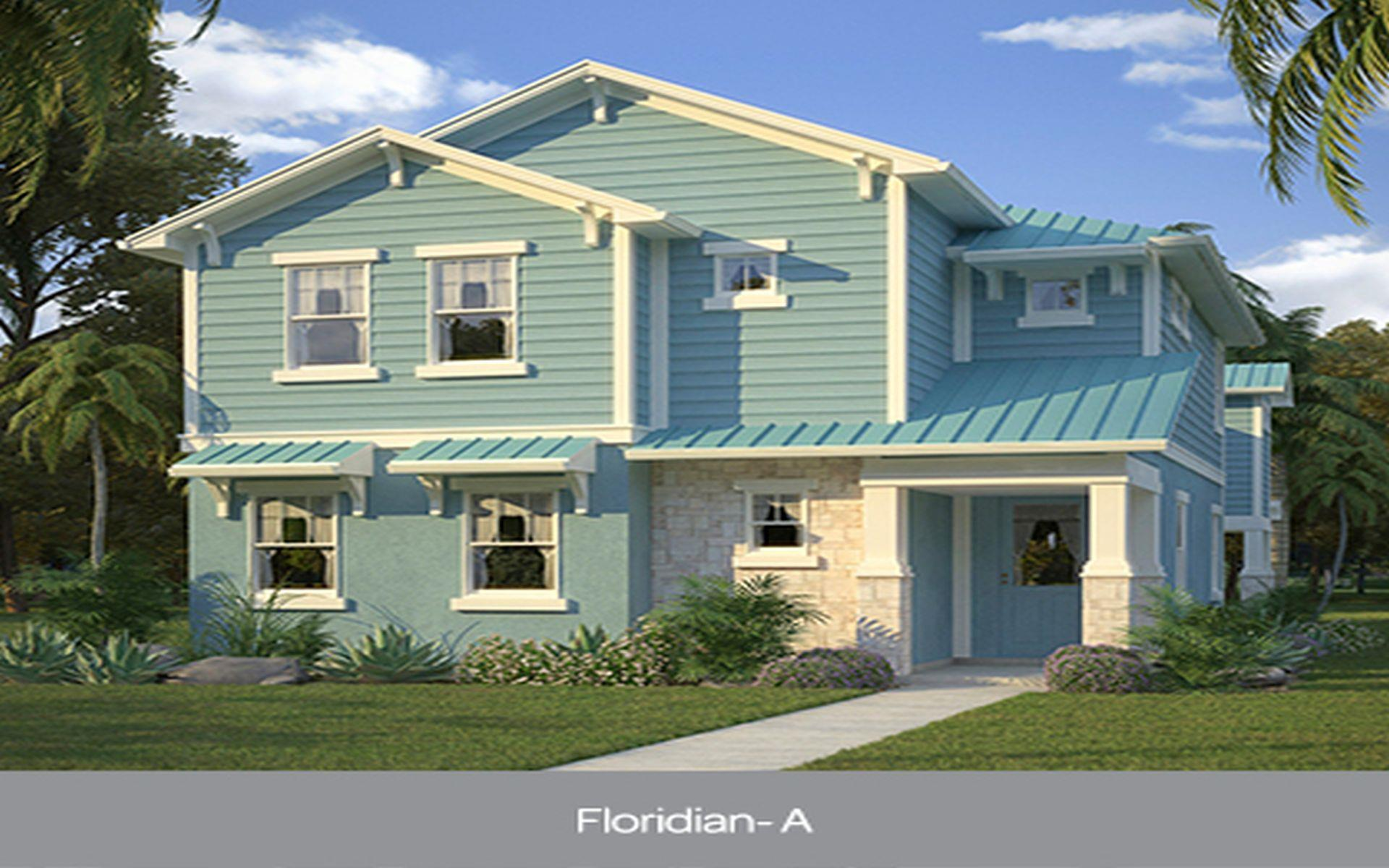 Floridian Floor Plan