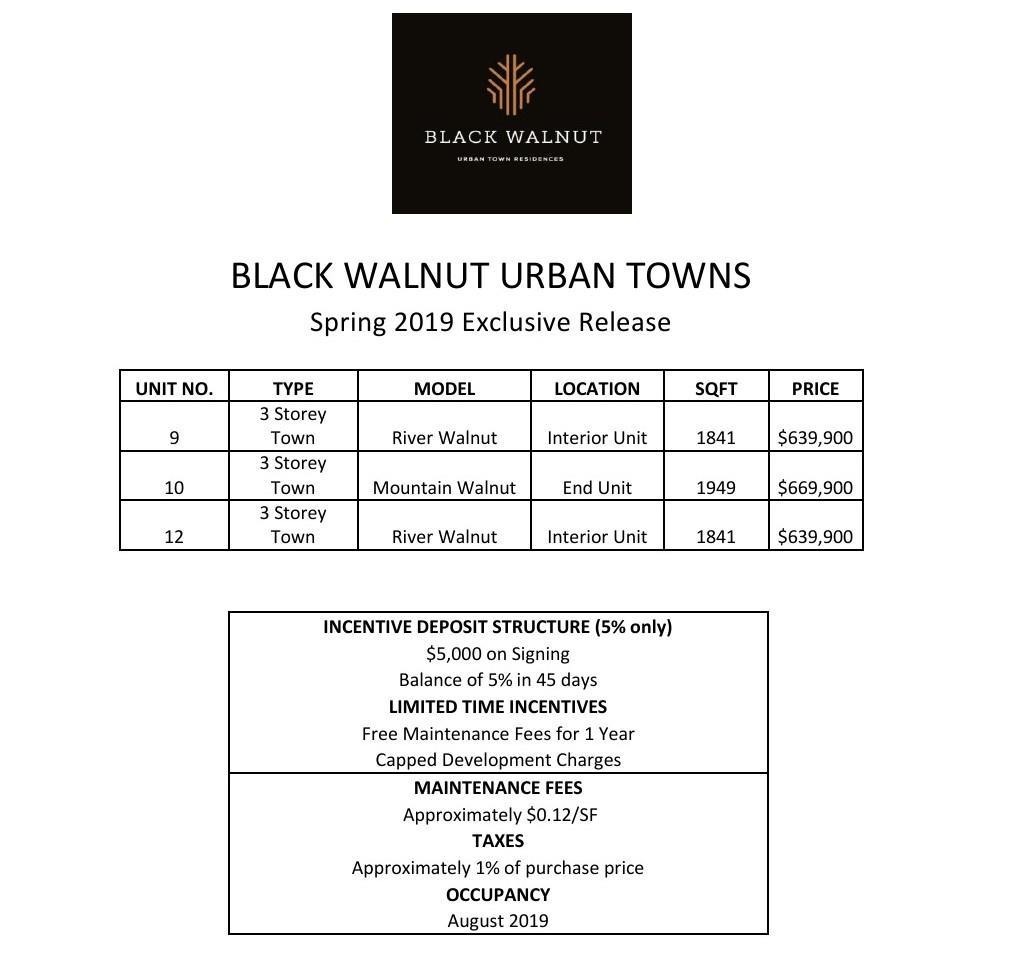 Black Walnut Urban Town