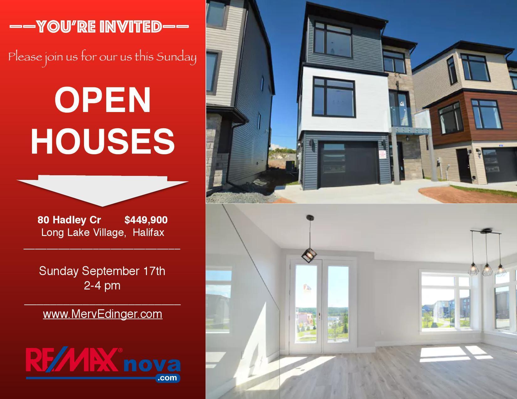 Open Houses in Halifax