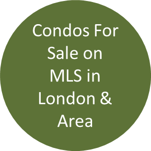 All London Ontario condominiums for sale on MLS