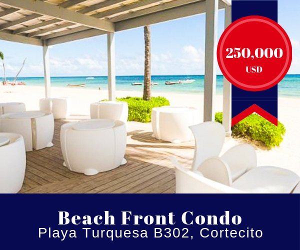 Beachfront Condo for sale in Punta Cana