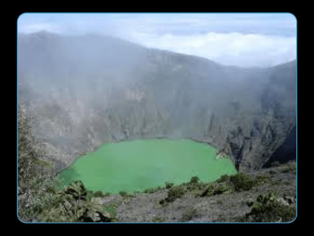 Irazu Crater, Costa Rica