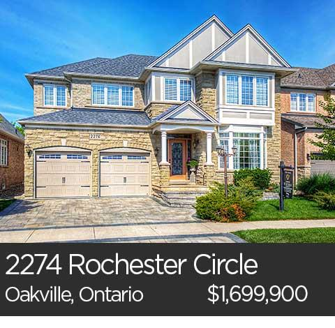 2274 rochester circle oakville ontario home for sale