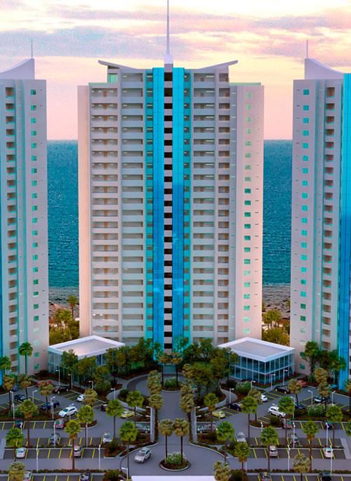 ENCANTAME TOWERS IN ROCKY POINT MEXICO