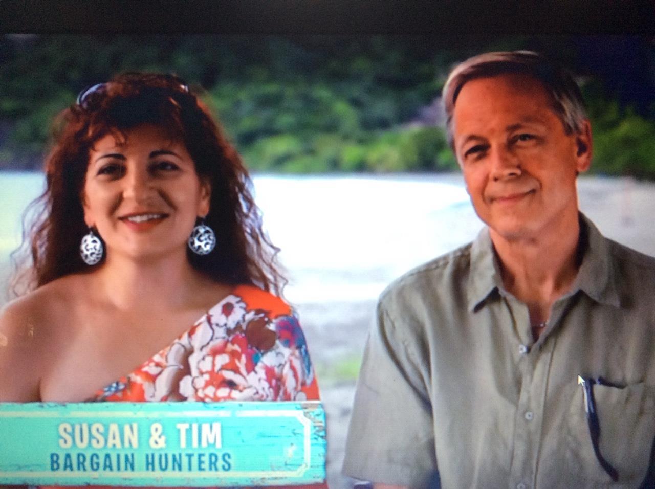Tim Dobson & Susan Carlevaris, HGTV Beachfront Bargain Hunt
