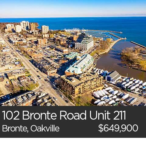 102 bronte road oakville ontario condo for sale
