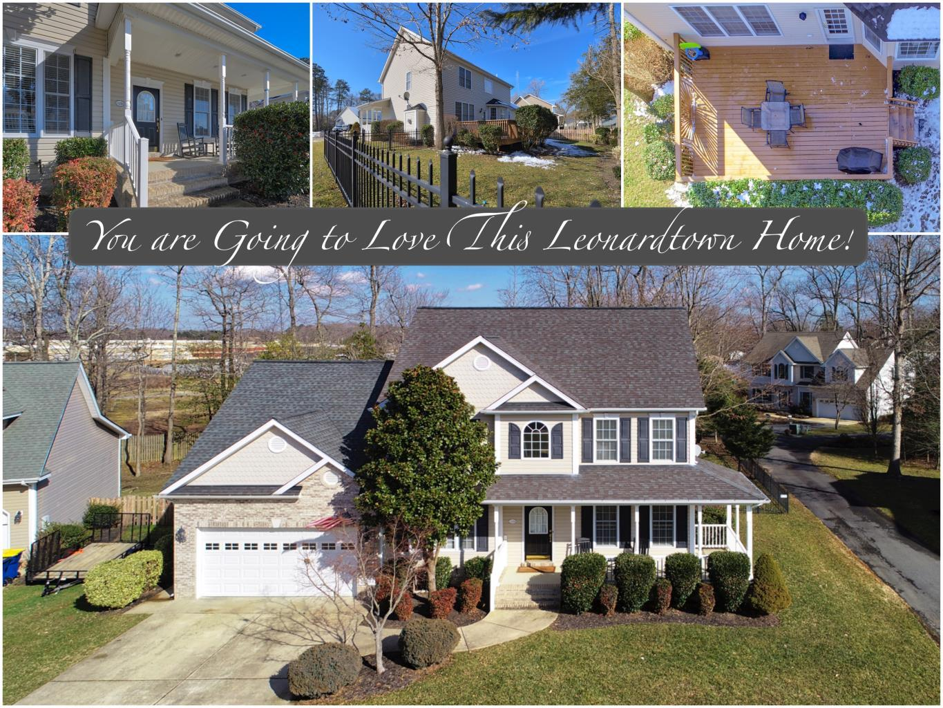 23288 Jenifer Ct Leonardtown MD is a beautiful home listed by Marie Lally, Realtor with O'Brien Realty in Southern Maryland