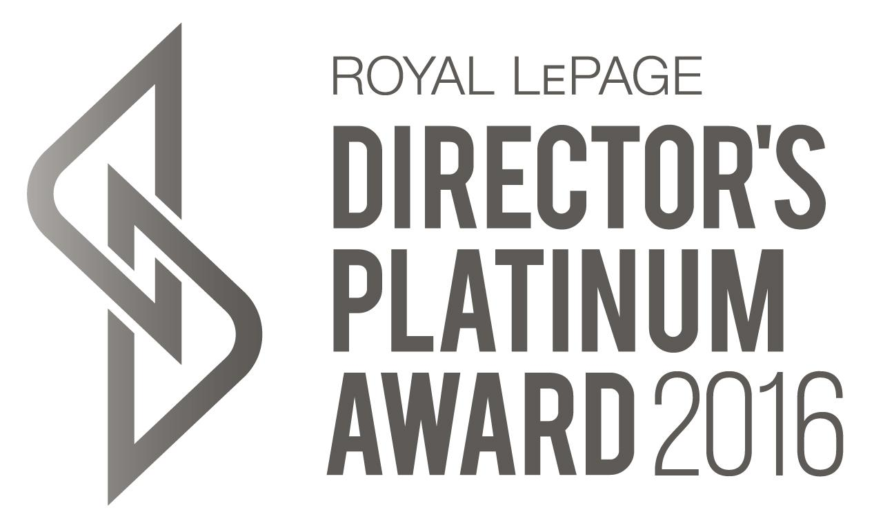 Directors Platinum Award REALTOR Royal Lepage