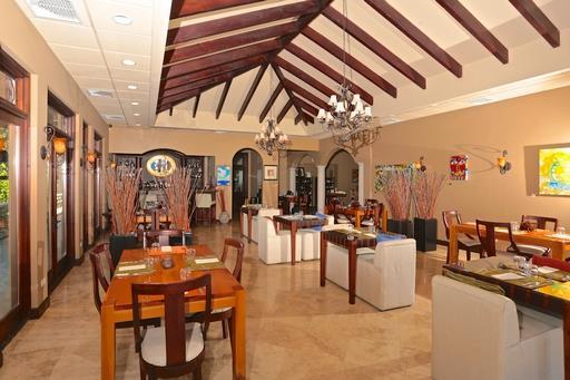 Restaurant at Hacienda del Mar Costa Rica