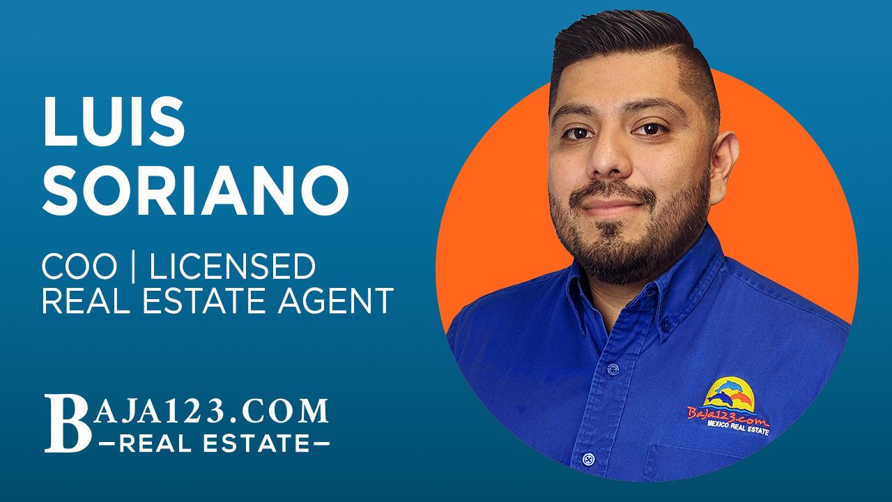 Luis Soriano Rosarito Beach Real Estate Agent