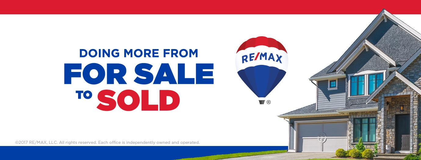 RE/MAX associates Rhonda Dahmer doing more from sale to sold