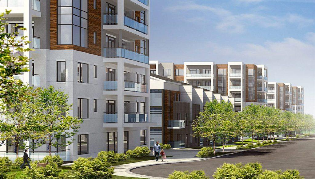 Daniels Keelesdale Condos and Towns