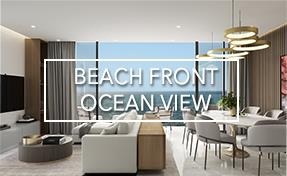 Beach Front and Ocean View Properties in Playa del Carmen