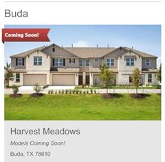 Future Model of Harvest Meadows Townhomes