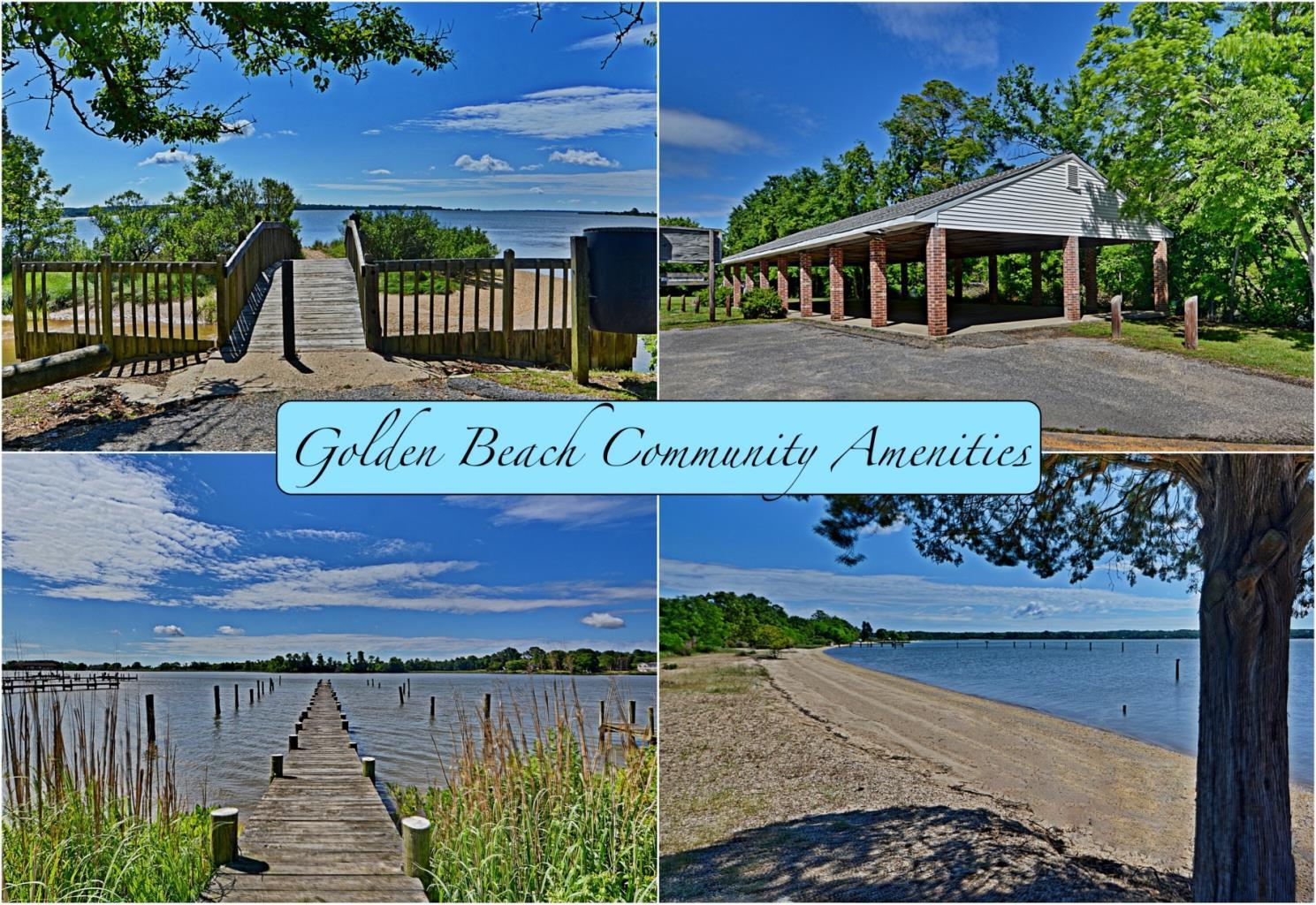 Golden Beach Amenities in Southern MD - Beaches, Boat Ramps, Fishing Piers and More!  Call Marie Lally, Your Southern MD Realtor at 301-748-8698