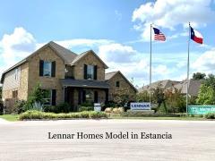 Lennar Model Home in the Estancia neighborhood.