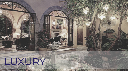 San Miguel de Allende Real Estate Property – Luxury font and lights (HOVER)