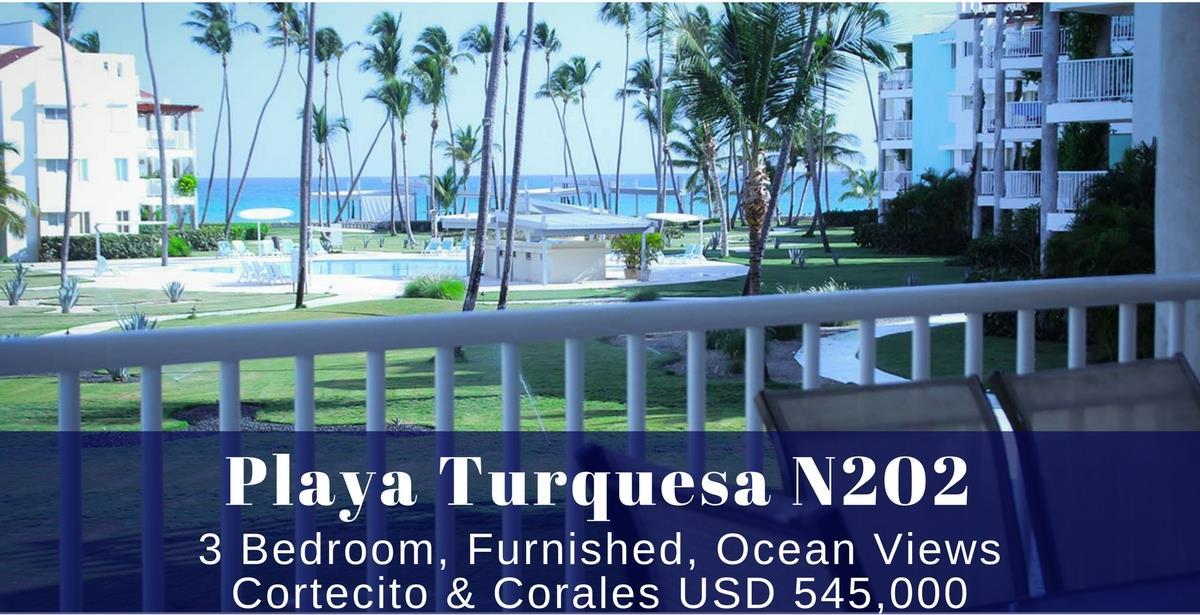 Playa Turquesa N202 Punta Cana Beachfront condo