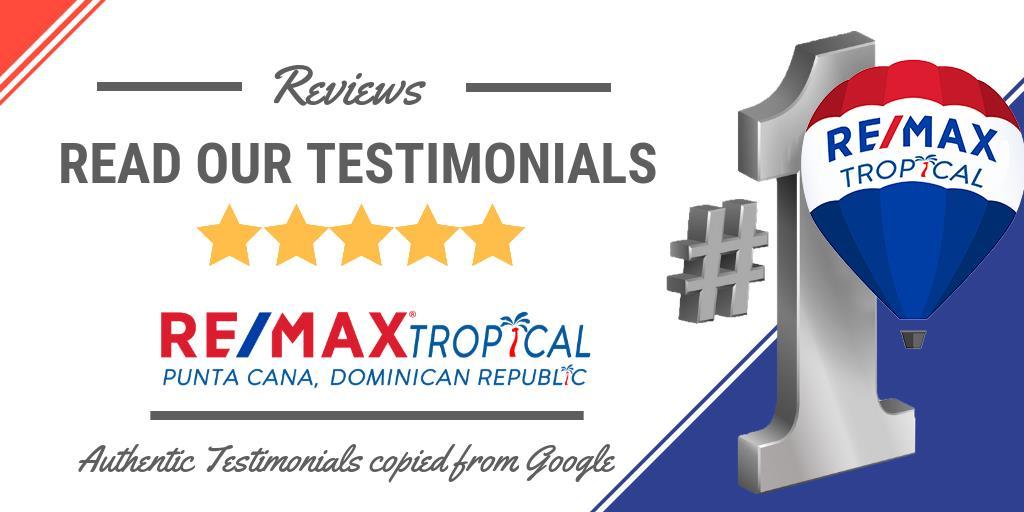 Testimonials Punta Cana Real Estate Remax Tropical Dr4sale