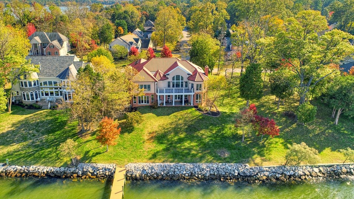 Swan Point, MD - 11650 Bachelors Hope Court - Charles County Waterfront Home Listed by Marie Lally, Realtor with O'Brien Realty of Southern Maryland, Specializing in Luxury Waterfront Properties!  Potomac River Waterfront in Southern MD by the Best of Southern Maryland!