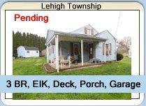 Lehigh Township Home For Sale