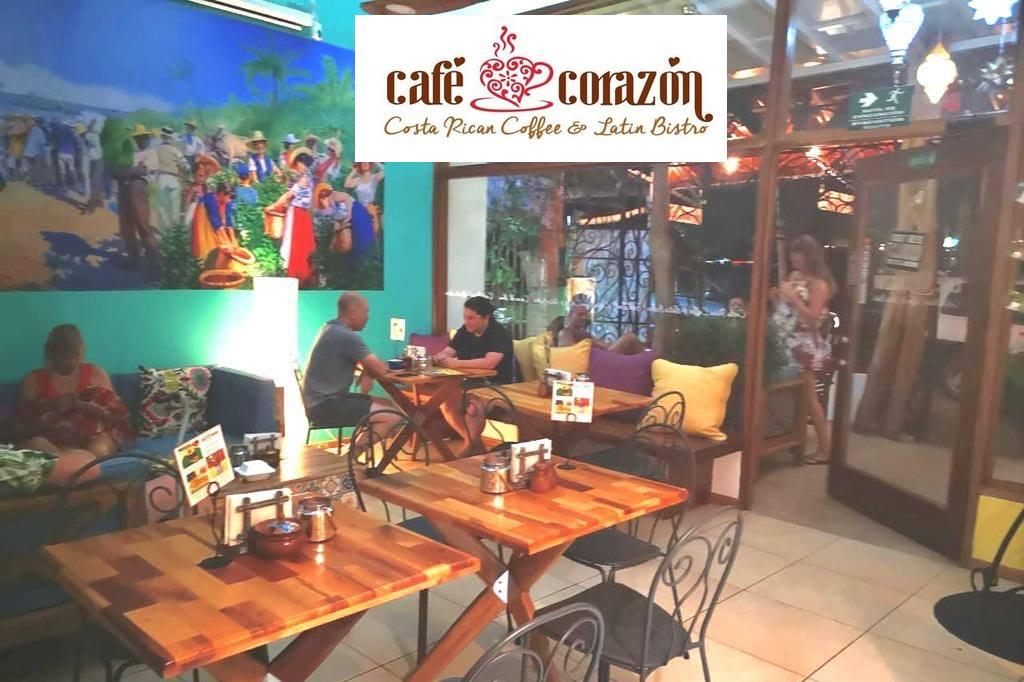 Cafe Corazon, Playas del Coco, Costa Rica