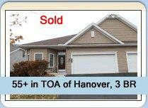 Home in TOA Hanover Sold