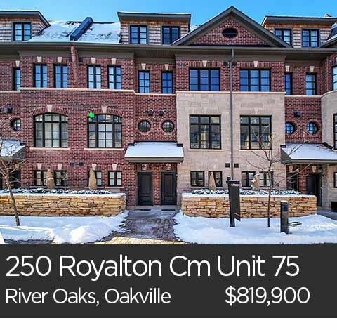royalton common oakville home for sale