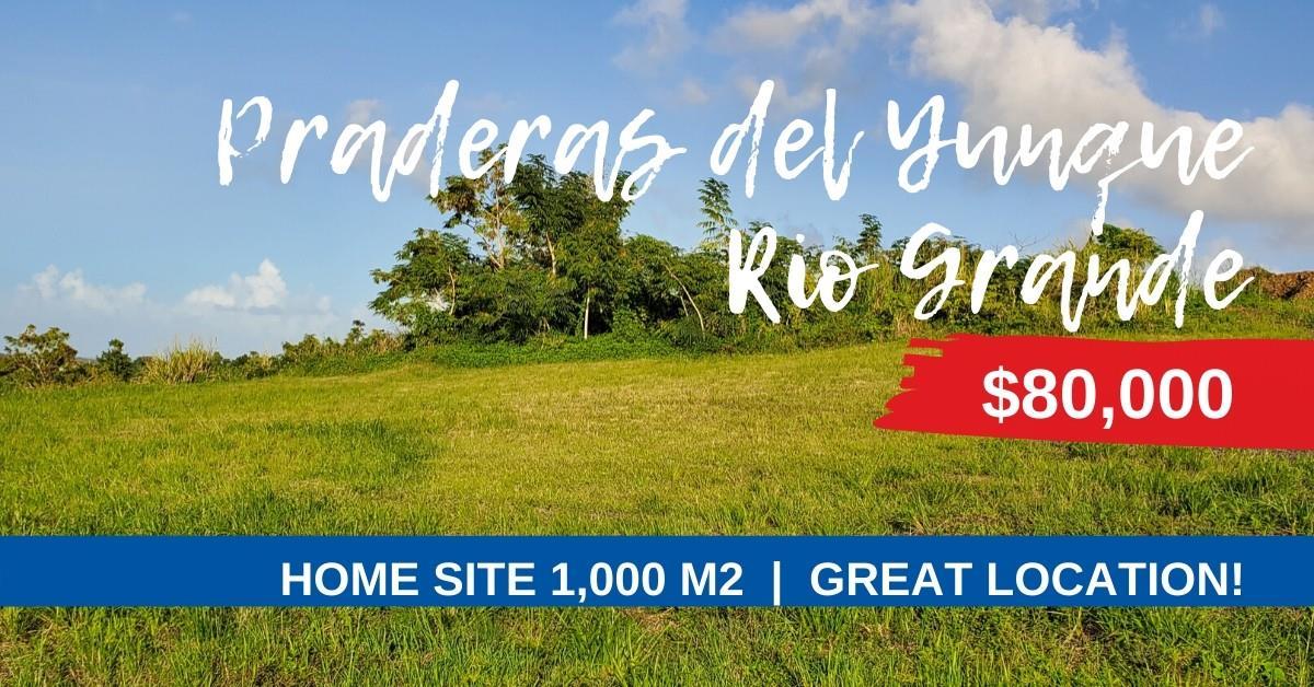 Land for sale in Rio Grande, Praderas del Yunque