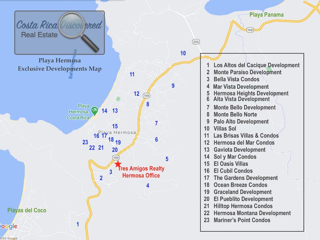 Playa Hermosa Exclusive Developments