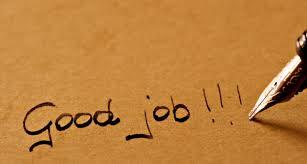 Good Job is what out clients say about us