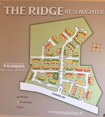 The Ridge at Slaughter Plan