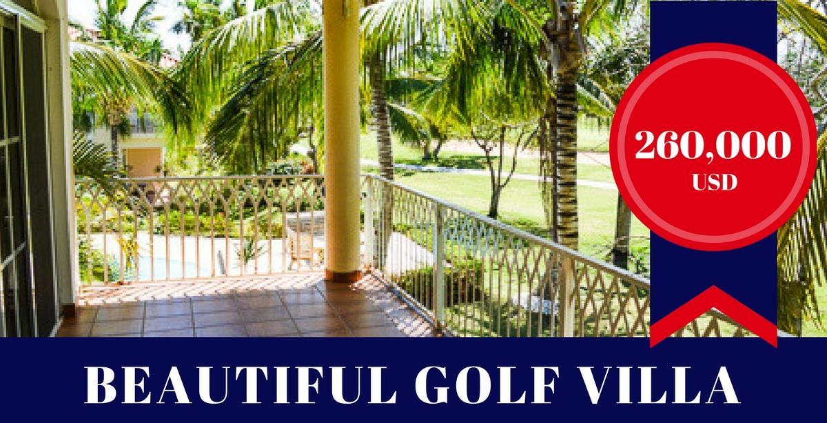 Golf Villa with Beach Access!