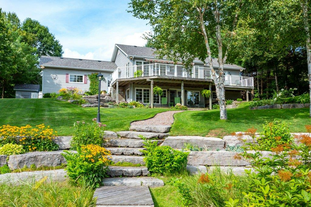 Burnt River Waterfront Home