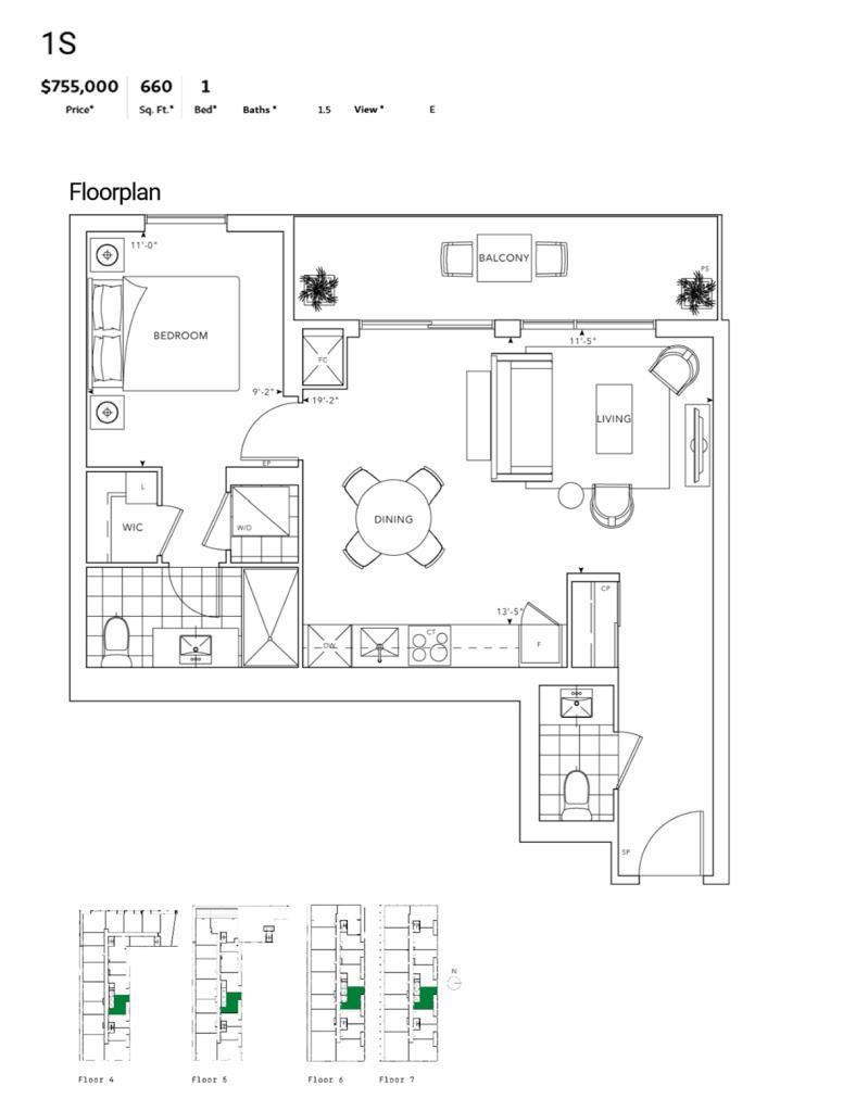MRKT - Floor Plan - 1S