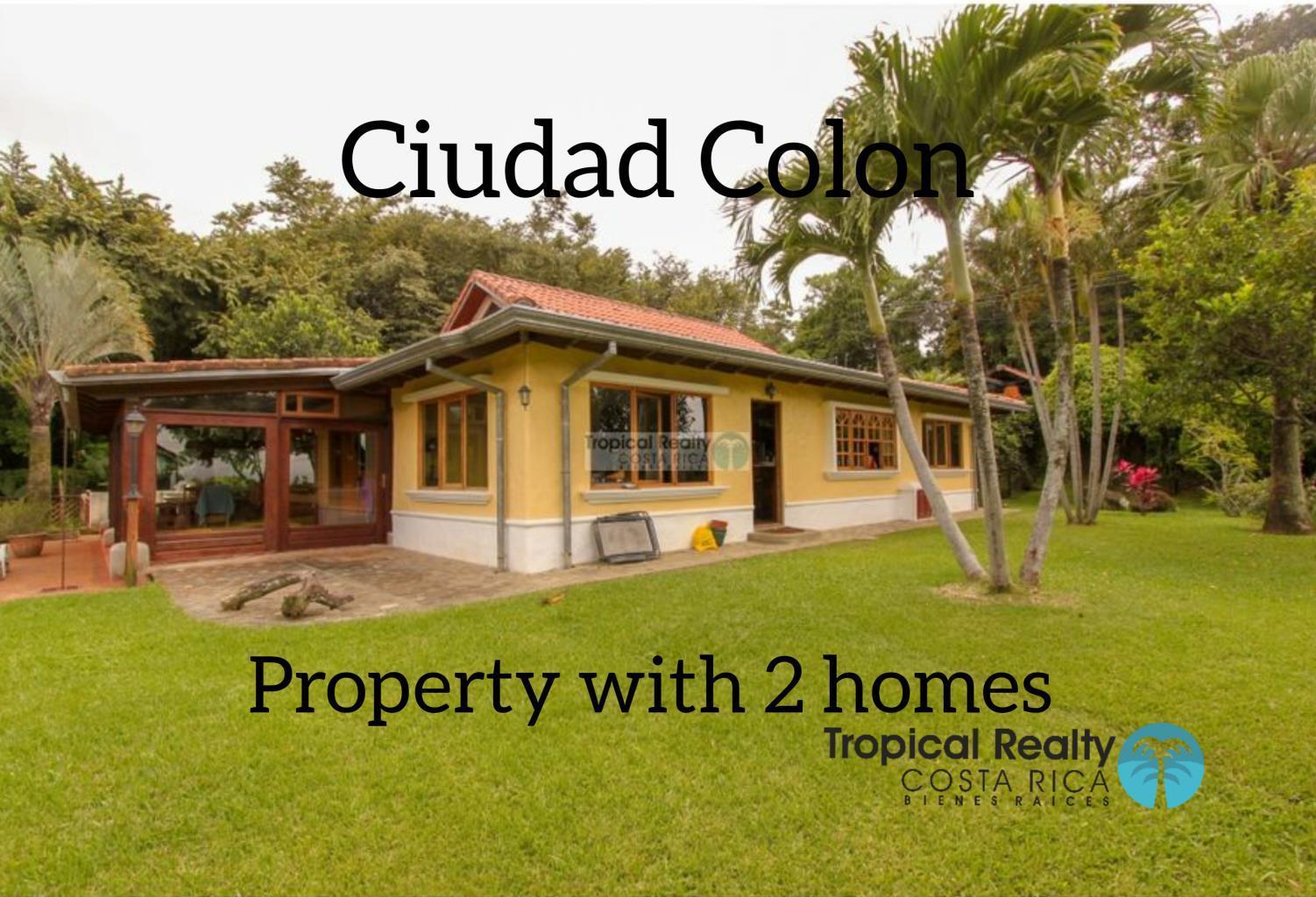 Ciudad Colon property with 2 homes