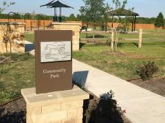The community park at Highlands at Grist Mill