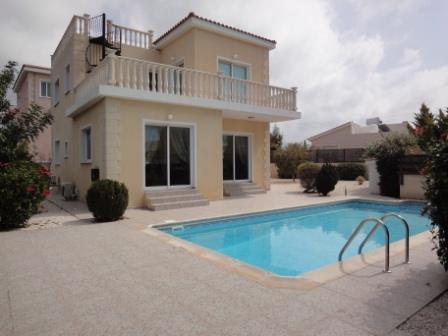 Sold Peyia Villa in Paphos Cyprus