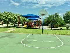 A view of the playground in Buda's StoneRidge neighborhood